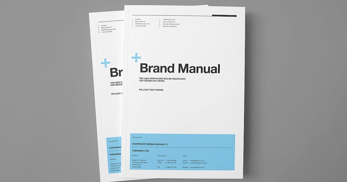 Brand Manual by Unknow