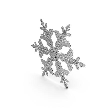 Снежинка Серебро