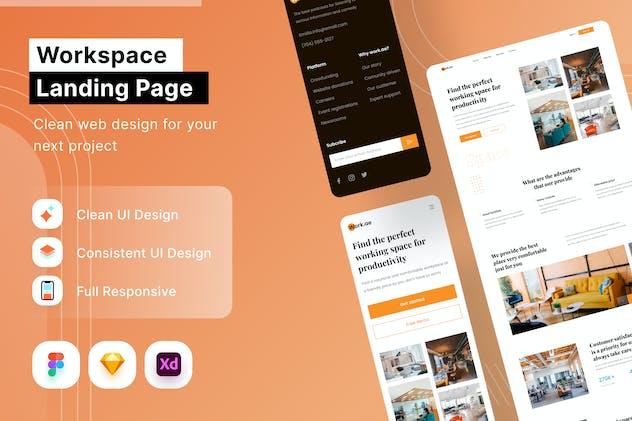 Workspace Landing Page