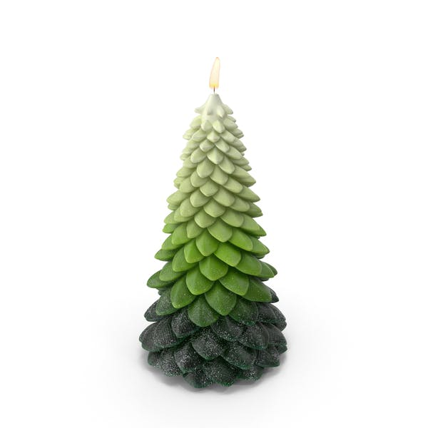 Cover Image for Tree Shaped Candle