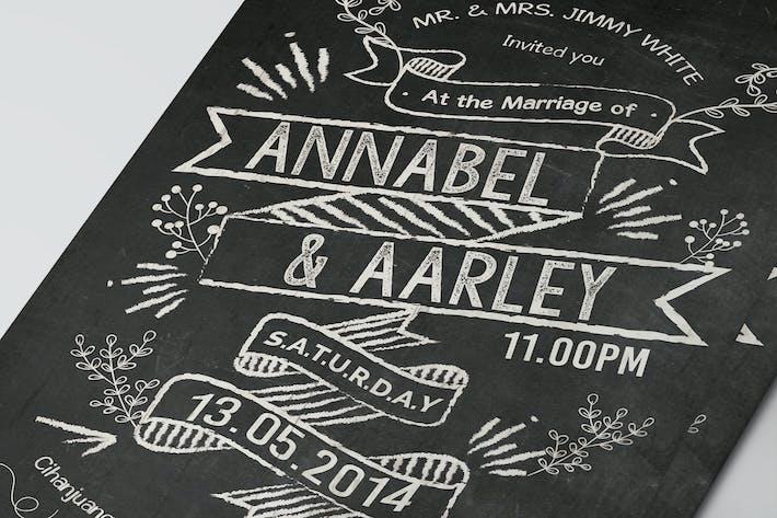 Thumbnail for Chalkboard Invitation