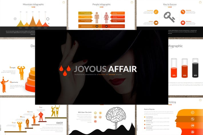 Thumbnail for JOYOUS AFFAIR Powerpoint