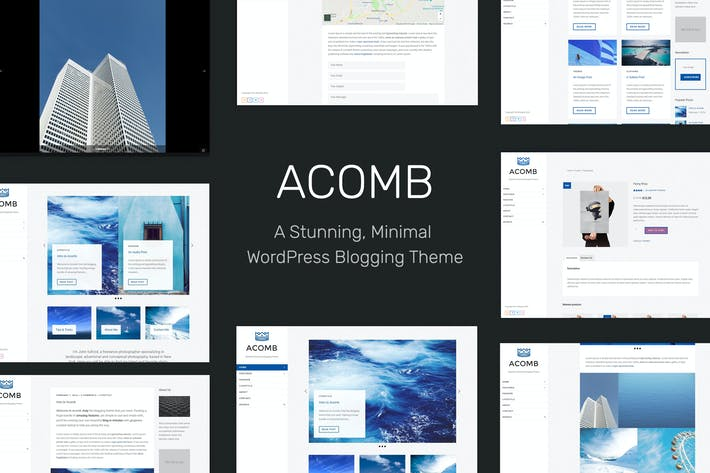 Cover Image For Acomb - Responsive Blogging WordPress Theme