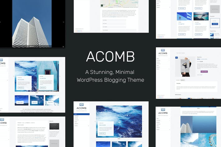 Thumbnail for Acomb - Responsive Blogging WordPress Theme