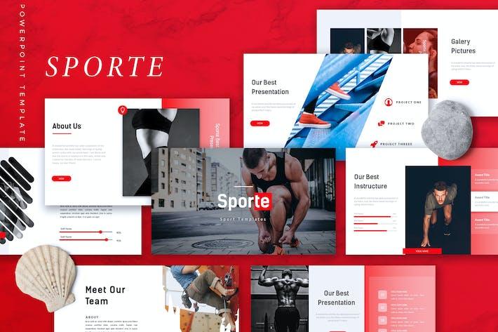 SPORTE - Sport Powerpoint Template