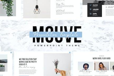 MOUVE - Элегантный Шаблон Powerpoint