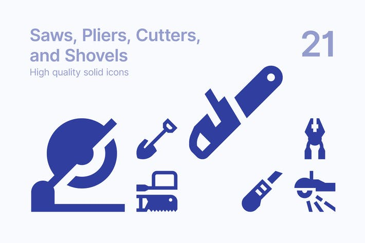 Saws, Pliers, Cutters, and Shovels