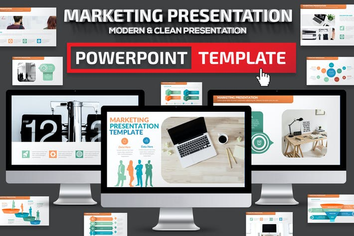 Thumbnail for Marketing Powerpoint Presentation