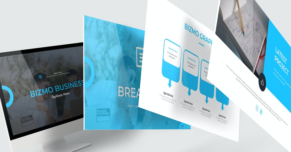 Download Bizmo - Powerpoint Template by aqrstudio