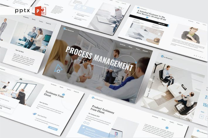 PROCESS MANAGEMENT - Powerpoint V494
