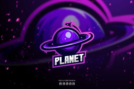 Planet - Mascot & Esport Logo