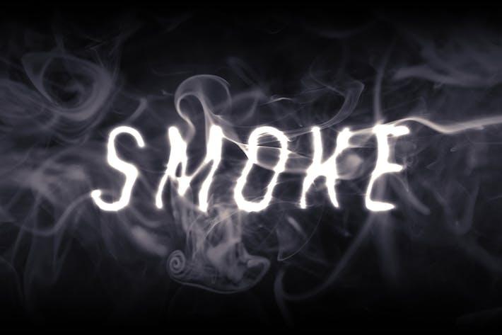 Smoke Text Effect