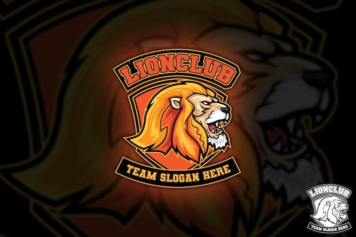 Thumbnail for Lion Club SportLogo Maskottchen