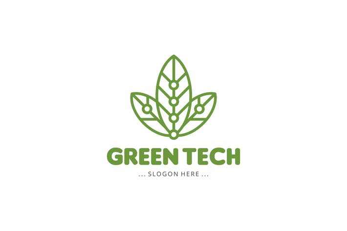 Thumbnail for Green Tech Logo