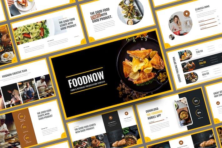 Foodnow - Food Google Slides Template