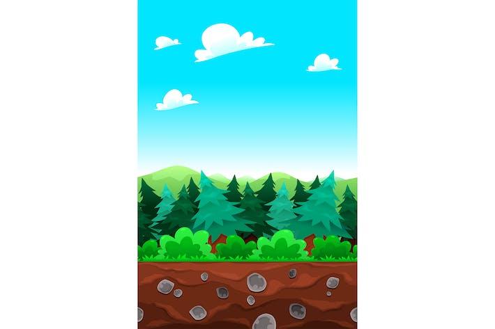 Thumbnail for Côtés carrelables en bois vert