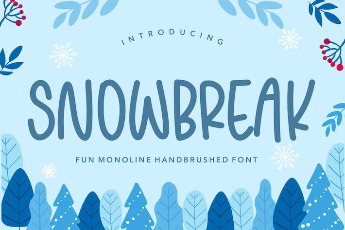 Snowbreak Tipografía YH