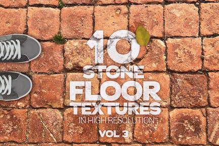 Stone Floor Textures x10 Vol.3