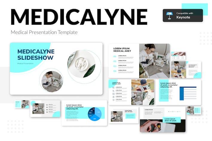 Thumbnail for MEDICALYNE - Medical Presentation Template