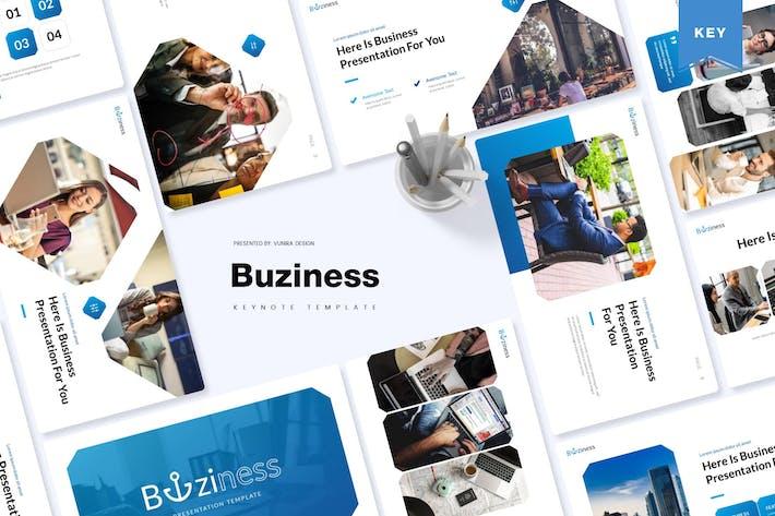 Thumbnail for Buziness | Keynote Template