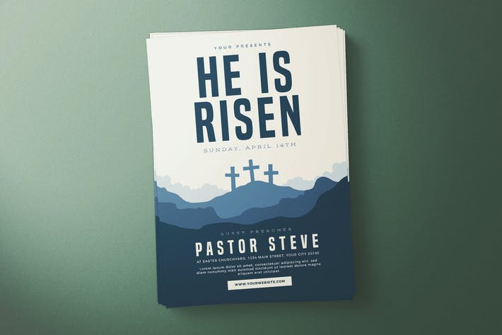 Thumbnail for He is Risen Flyer