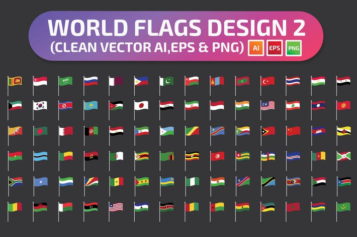 Thumbnail for World Flags Set2