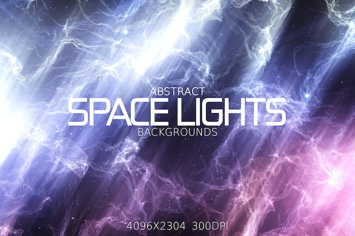 Thumbnail for Abstract Space Lights Backgrounds