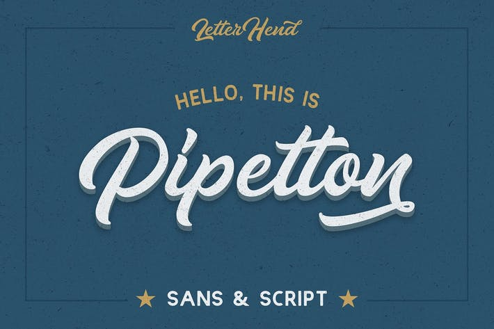 Thumbnail for Pipetton Font Duo
