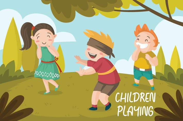 Thumbnail for CHILDREN - Vector Illustration