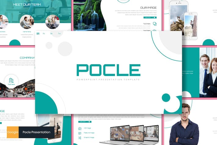 Thumbnail for Pocle - Business Google Slides Template