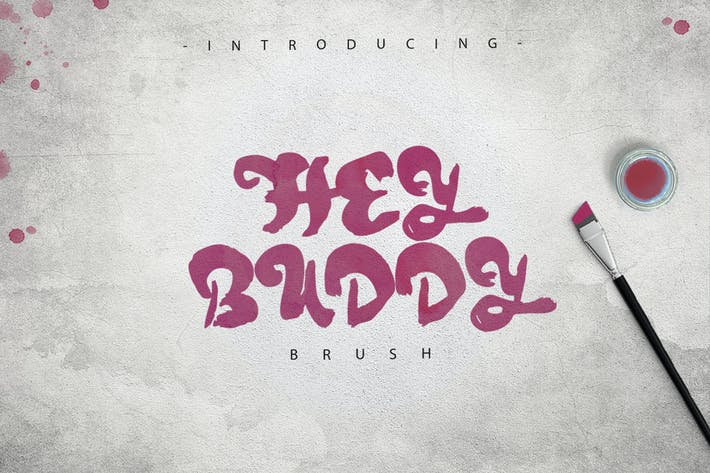Cover Image For Hey Buddy