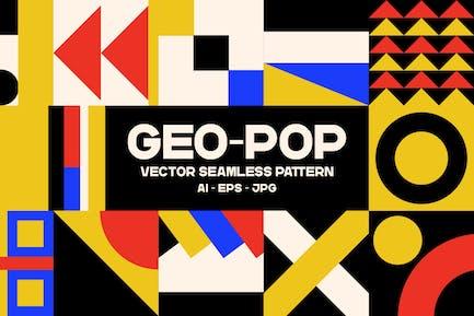 Geopop - Nahtloses Muster