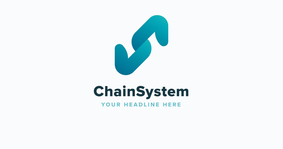 Download Chain System Logo Template by Pixasquare