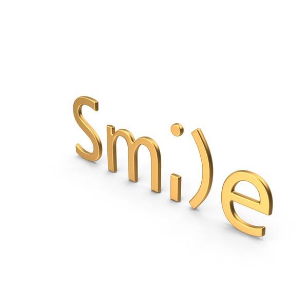 Word Smile Oro
