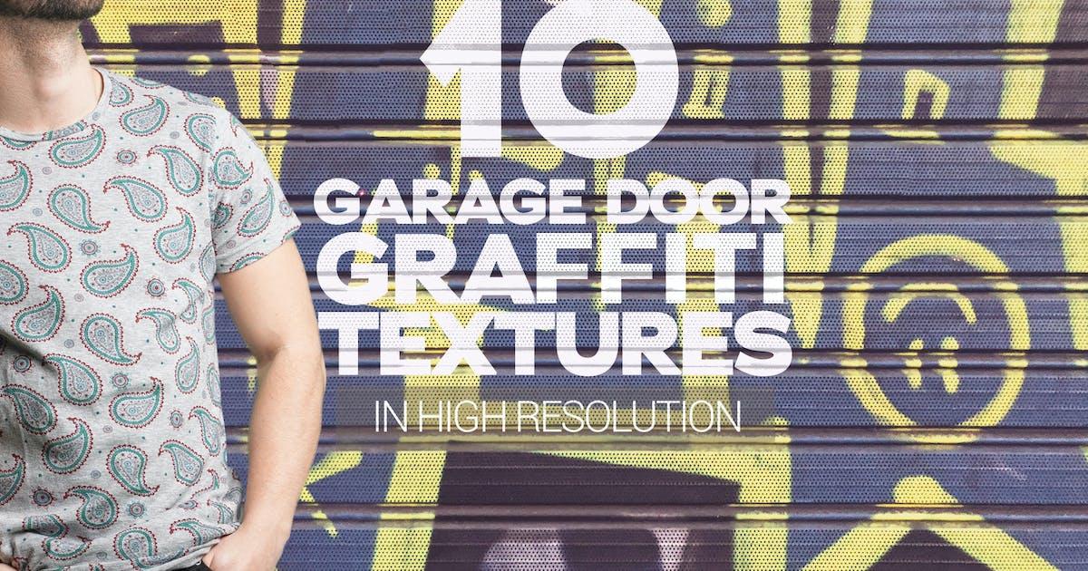 Download Garage Door Graffiti Textures x10 by SmartDesigns_eu