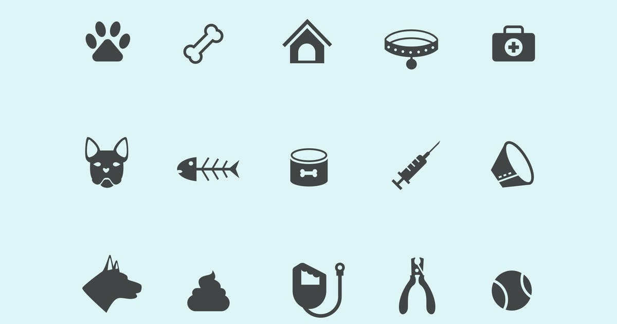 Download 15 Dog Icons by creativevip