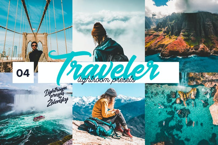 Thumbnail for Traveler Lightroom Presets