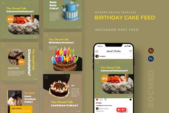 Thumbnail for Birthday Cake Socmed Post
