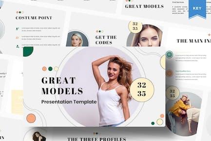 Great Models   Keynote Template