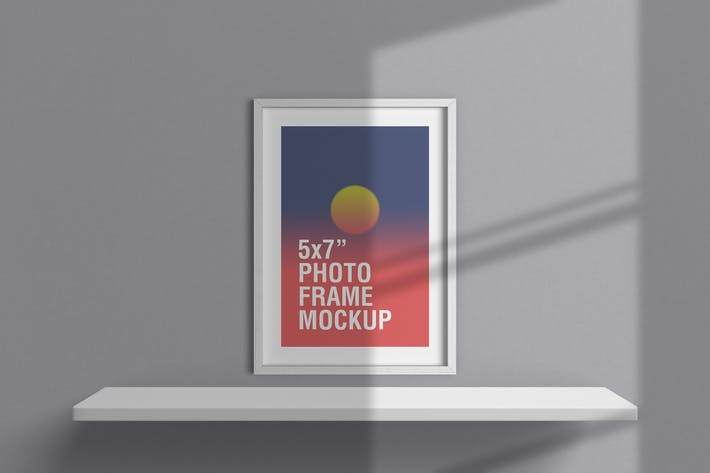 Thumbnail for 5x7 Inches Photo Frame Mockup