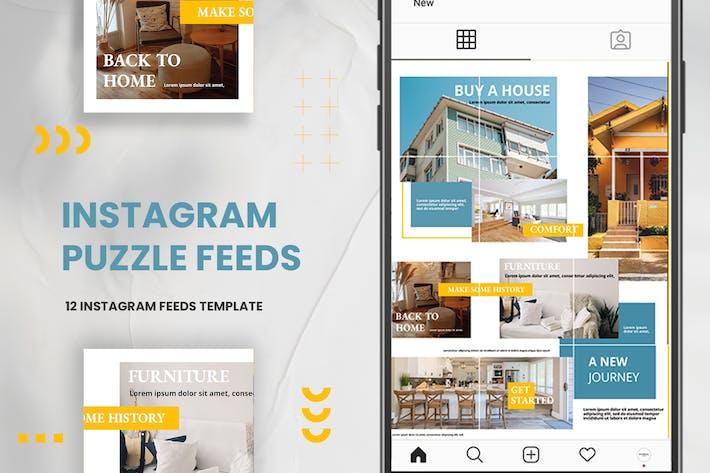 Thumbnail for Instagram Puzzle - Vente à domicile