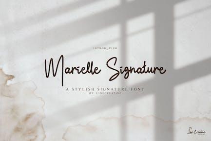 Marielle Signature