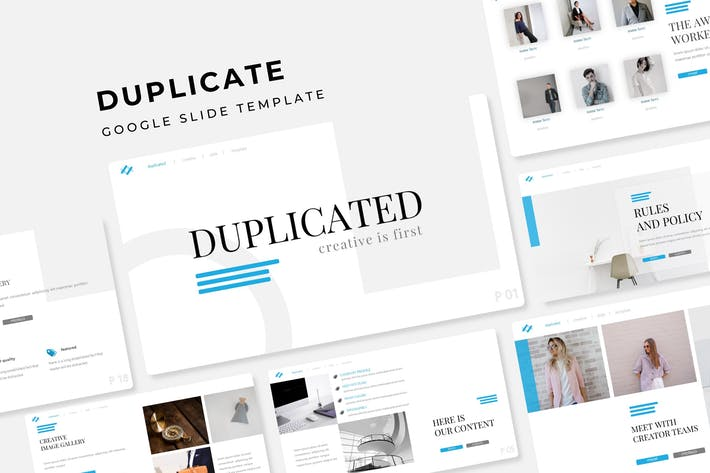 Thumbnail for Duplicated - Google Slide Template
