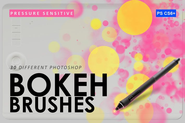 Thumbnail for 30 Bokeh Photoshop Brushes