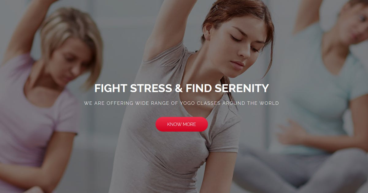 Download Yoga | Landing Page Muse Template by Muse-Master