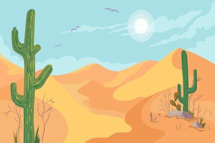 Desert - Illustration Background