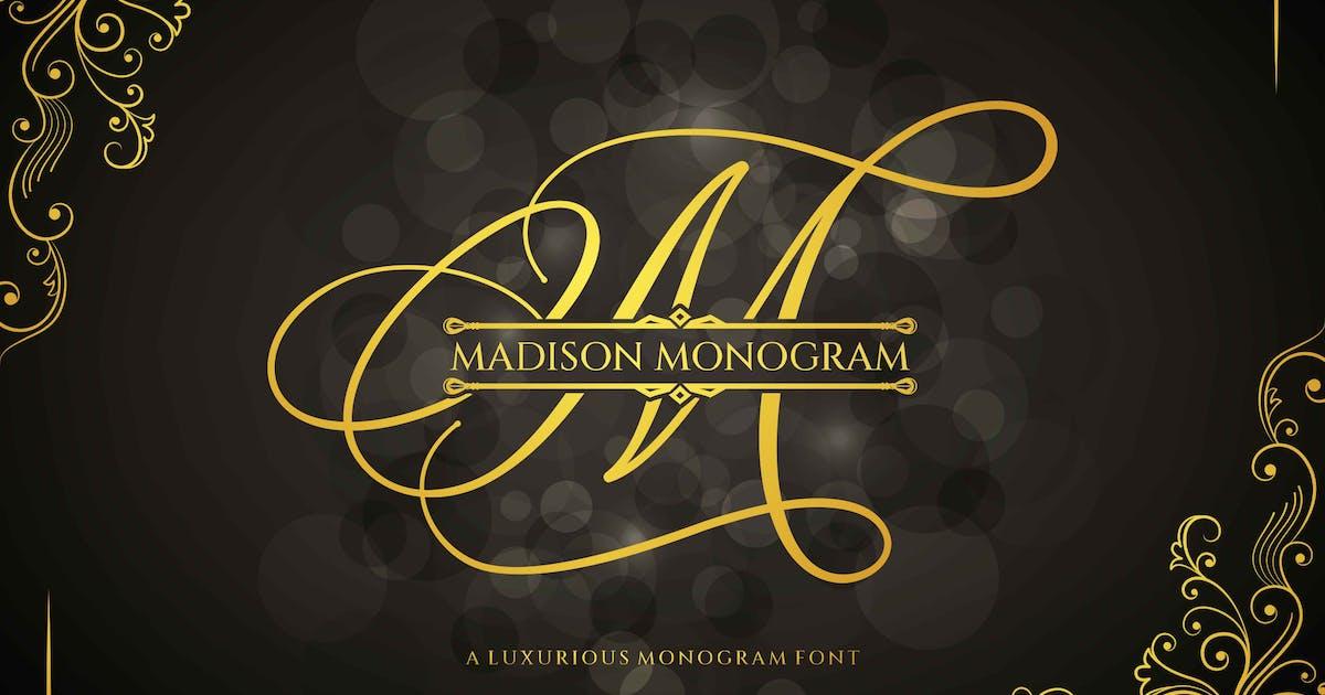 Download Madison Monogram Font by axelartstudio