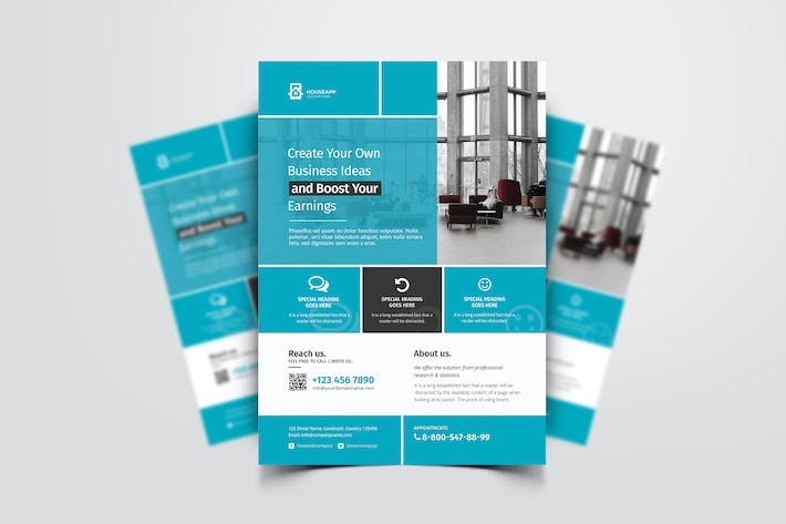 Thumbnail for Business Flyer 042
