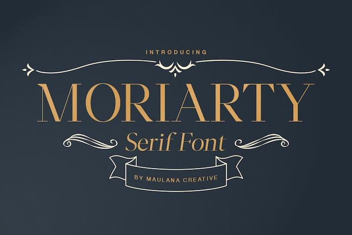 Thumbnail for Moriarty Con serifa Fuente