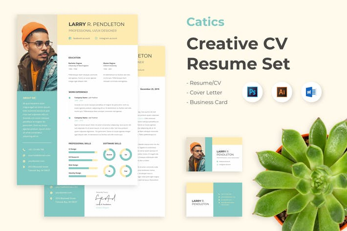 Thumbnail for CV Resume